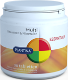 Multi Vitamine (30 tabletten) van Plantina