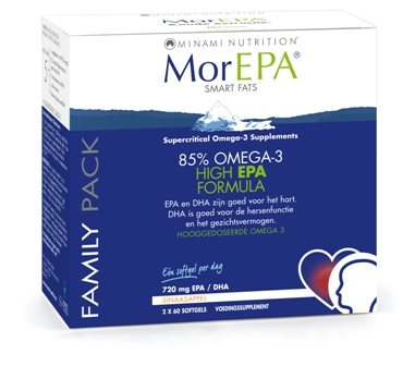 MorEpa Smart Fats - Family Pack - 120 softgels