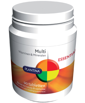 Multi Vitamine (240 tabletten) van Plantina