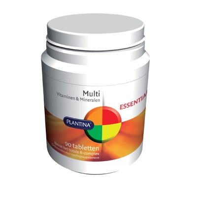 Multi Vitamine (90 tabletten) van Plantina