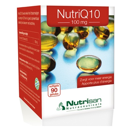 Nutri Q10 100 mg (90 softgels) van Nutrisan